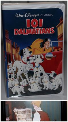 Black Diamond 101 Dalmatians RARE VHS Walt Disney Classic | eBay