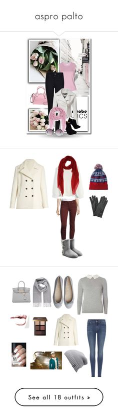 """""""aspro palto"""" by ledim85 ❤ liked on Polyvore featuring wardrobebasics, Paige Denim, Chicwish, UGG, Tomas Maier, Dorothy Perkins, 7 For All Mankind, The North Face, Vivienne Westwood and Bobbi Brown Cosmetics"""