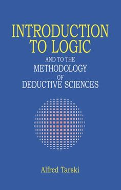 Introduction to Logic: and to the Methodology of Deductive Sciences (Dover Books on Mathematics) by Alfred Tarski http://www.amazon.com/dp/048628462X/ref=cm_sw_r_pi_dp_e6Oovb026QZMB
