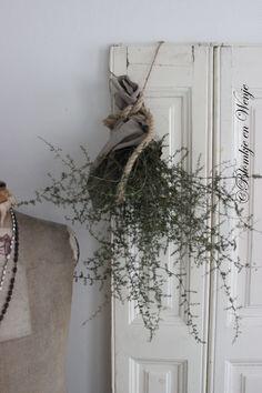 Toef festoen guirlande Wilde Asparagus stoer sober landelijk Blomkje en Wenje