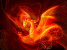 Flame Dragon Fractal by ~harbingerofdeath13 on deviantART