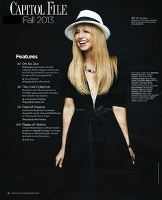 c783e93985565 Rachel Zoe in the Capitol File wearing a Eric Javits  hat Rachel Zoe