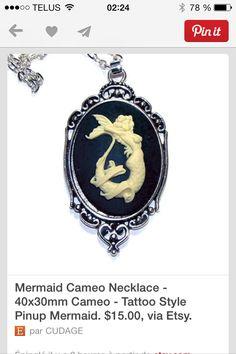 Mermaid cameo