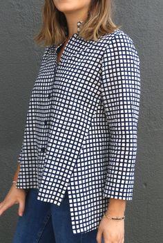 Tessuti Fabrics - Helga Shirt Pattern