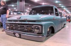 Ford truck, layin' frame!