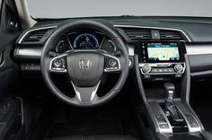 2016 Honda Civic sedan cockpit