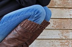 Ravelry: Boot Cuff : Reasonable pattern by Brome Fields. Knitting pattern available for purchase. Knitted Boot Cuffs, Knit Boots, Ravelry, Knitting Patterns, Trending Outfits, Unique Jewelry, Handmade Gifts, Fields, Etsy