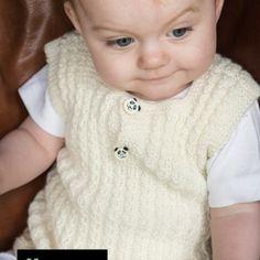 - Retstrikket basismodel til baby fra Järbo Baby Dress, Sheep, Knitwear, Knitting, Happy, Barn, Victoria, Jacket, Creative