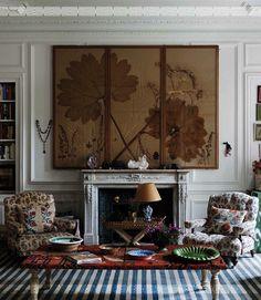 Carolina Irving's Paris Apartment in Cabana Magazine | The Neo-Trad