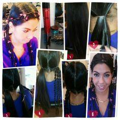 Kacie_DeJesus   #GOT #GameofThrones #festivalhair #hairtutorial #coachellahair #sexyhair #howto #DYI #Tutorial #Concerthair