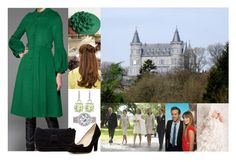 """""""(READ!) Princess Marie-Astrid of Belgium and Caspar van de Velde attend the christening of their daughter"""" by hanaofbelgium ❤ liked on Polyvore featuring Beautiful People, Michael Barin, Betsey Johnson, L.K.Bennett, women's clothing, women, female, woman, misses and juniors"""