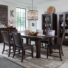 Magnussen Pine Hill Dining Table | from hayneedle.com