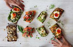 Weekday Breakfast Toast Spreads - Baliboosta