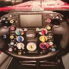 Ferrari 248 cockpit 2006