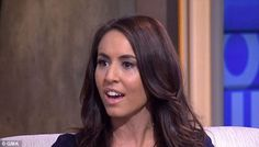 First interview: Andrea Tantaros appeared on Good Morning America (above) to speak for the first time about her sexual harassment lawsuit against Fox News