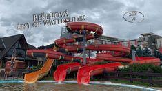 Bešeňová Best of Waterslides 360° VR POV Onride Vr, Youtube, Youtubers, Youtube Movies