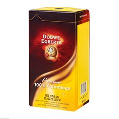 Douwe Egberts Liquid Coffee 100% Colombian 1 box 2 Liter Concentrate ** Visit the image link more details.