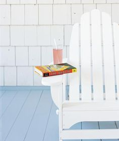Adirondack chair with a book and a drink on a side table | Some are new, some are staff favorites, but all are terrific—and you'll love at least one.