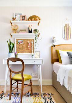 vintage eclectic garden inspired shared girls 39 bedroom. Black Bedroom Furniture Sets. Home Design Ideas