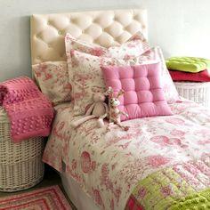 Красивый текстиль для детской спальни (Zara Home Kids)