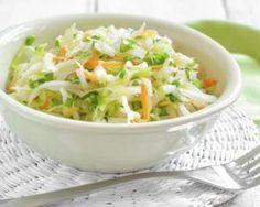 Coleslaw minceur revisité aux poireaux et carottes : http://www.fourchette-et-bikini.fr/recettes/recettes-minceur/coleslaw-minceur-revisite-aux-poireaux-et-carottes.html