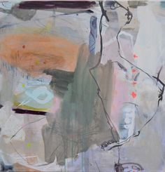 Artist: Jette Segnitz. Abstract paintings. Acrylic on canvas. www.segnitz.dk