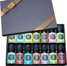 Essential Oil- Beginners Best Aromatherapy Gift Set