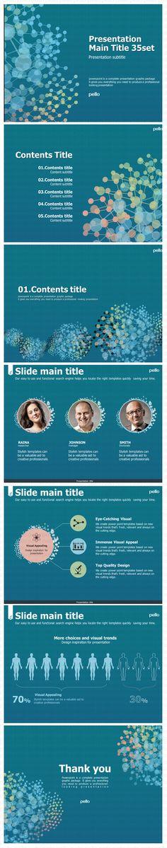 gene/ medical PPT Template / Power Point / www.pello.co.kr / www.pellotemplate...