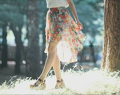 I want to frolic in this skirt.