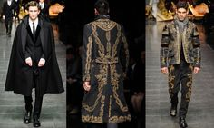 Baroque Fashion - Oh My, Yes! I want to see @hobnickerson dressed like this!