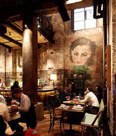 Mr Wong, Sydney Channelling 1930s Shanghai at Mr Wong, a great new restaurant on Bridge Lane in Sydney.