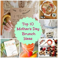 """Host a theme brunch for Mother's Day...Mother's Footsteps"""""""