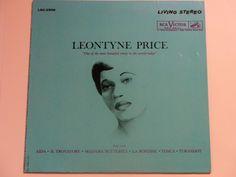 ANNIVERSARY SALE Leontyne Price  Arias - Aida  Il Trovatore  Madam Butterfly  Tosca  Turandot - Re-Issue RCA Victor 1961  Vintage Vinyl Lp O