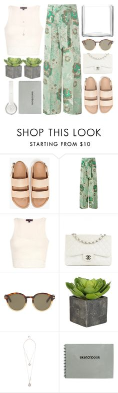 """Untitled #914"" by chantellehofland ❤ liked on Polyvore featuring Christian Pellizzari, Chanel, Tom Ford, GUESS, Beats by Dr. Dre and LSA International"