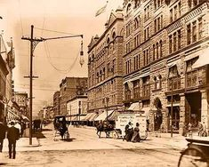 16th Street Denver ca 1911
