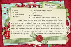 Let's Gather in the Kitchen: Free Digital Recipe Cards