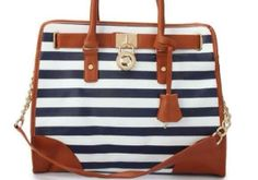 Nautical MK purse only $80 www.facebook.com/blushingblueboutique