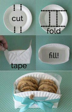 Contenitore piatto di carta