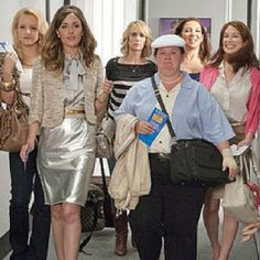 Bridesmaids... Can't help but LOL every time I watch this movie! Melissa McCarthy is hilarious !!! Quote-Megan: It's coming out of me like lava!