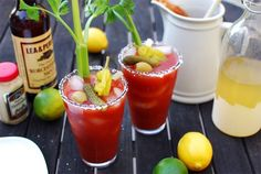 The Bloody Maria is a popular rendition of the Bloody Mary that substitutes the traditional vodka with tequila. This switch definitely makes a difference, since the tequila adds a spicy flavor that vodka lacks.