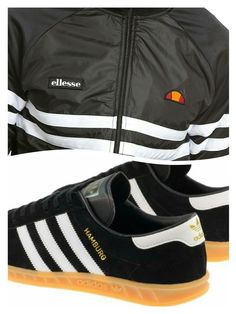 brand new 01d76 21354 Pair up with Black  White Hamburgs with gum sole Adidas Og, Football  Casuals,