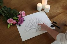I want a wedding footprint tree for my special day! Footprint, Special Day, Plastic Cutting Board, Candle Holders, Candles, Wedding, Candlesticks, Casamento, Weddings