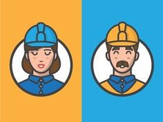 Workers in Illustration