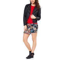 "Gonna pantaloncino stampata a ""fiori"" Donna - Kiabi - 13,00€"