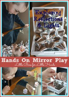 Simple Mirror Activity: Exploring Reflections with Light