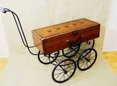 coffee table - tea cart - BUGGY CART - recycled materials - Reclaim2Fame
