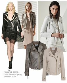 From biker jackets in soft new tones to sexy slip dresses, grab these new fashion staples that every stylish woman should own for Spring Summer 2014 at Wallis.