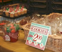 Shes Scrappy: ~It's the Bake Sale time of Year!!