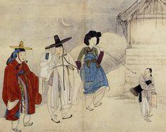 신윤복 (Shin Yun-bok)