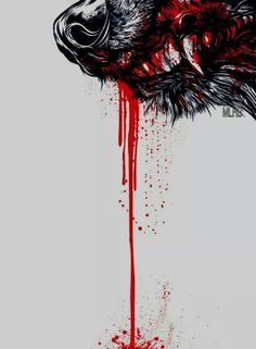 """durgildraug: """"scarlet-musings: """" I would bare my throat To your hungry jaws I would let you feast Upon my unholy soul I would offer myself up To save you from starvation…©scarlet-musings """" Would you offer your throat to the wolf with the red..."""